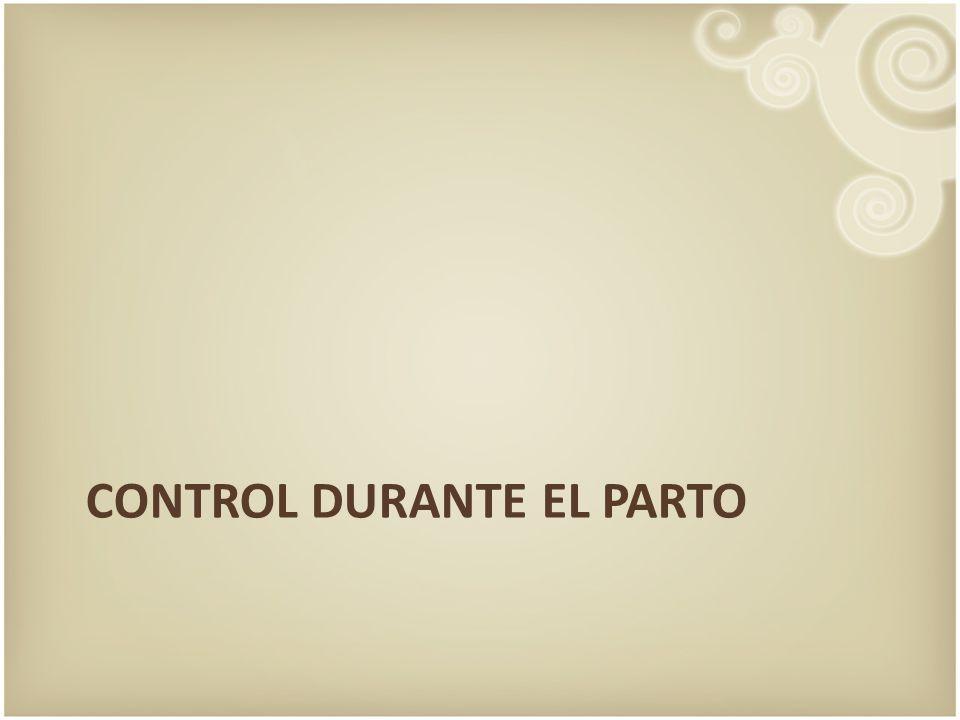 Control durante el parto