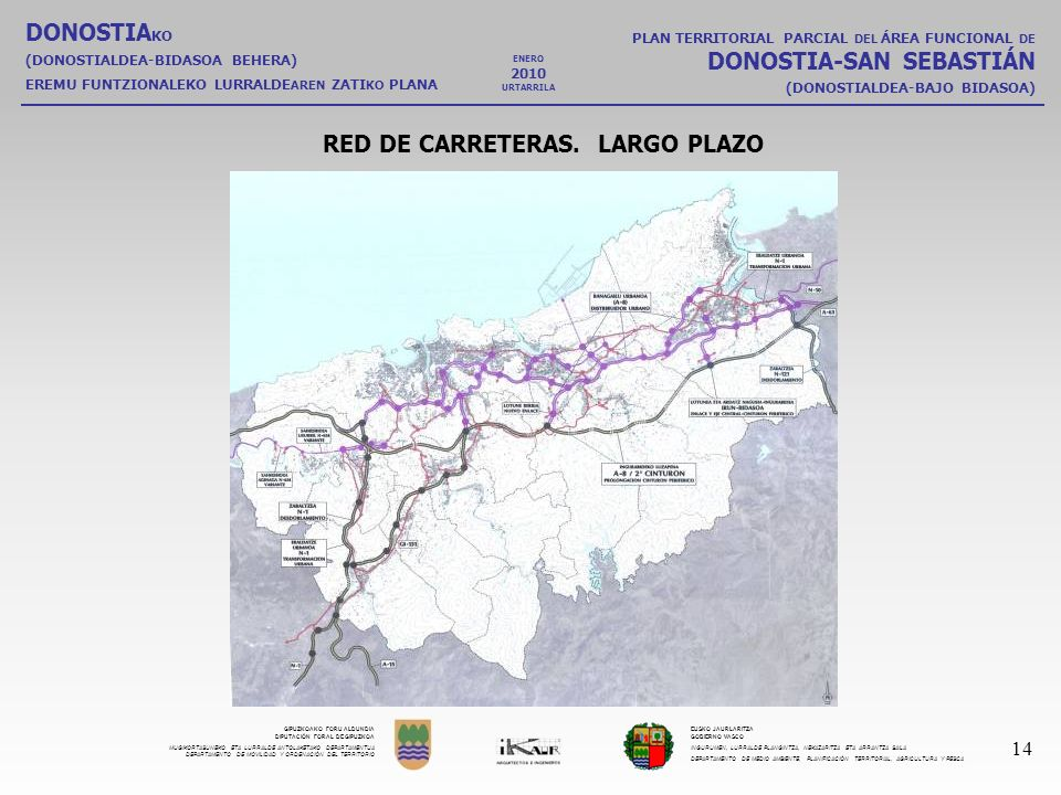 RED DE CARRETERAS. LARGO PLAZO