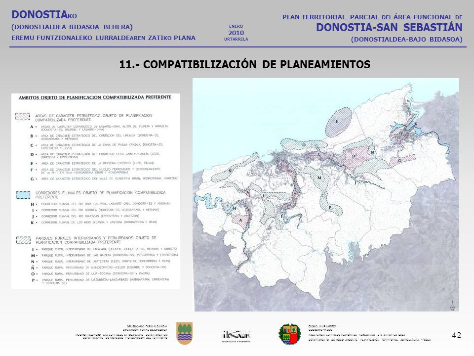 11.- COMPATIBILIZACIÓN DE PLANEAMIENTOS