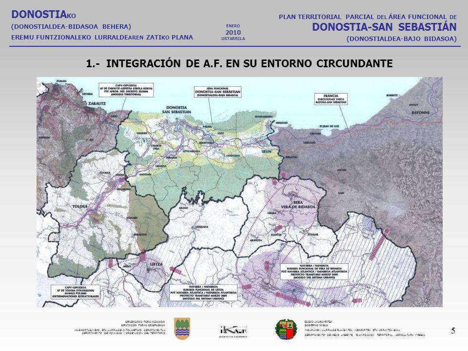 1.- INTEGRACIÓN DE A.F. EN SU ENTORNO CIRCUNDANTE