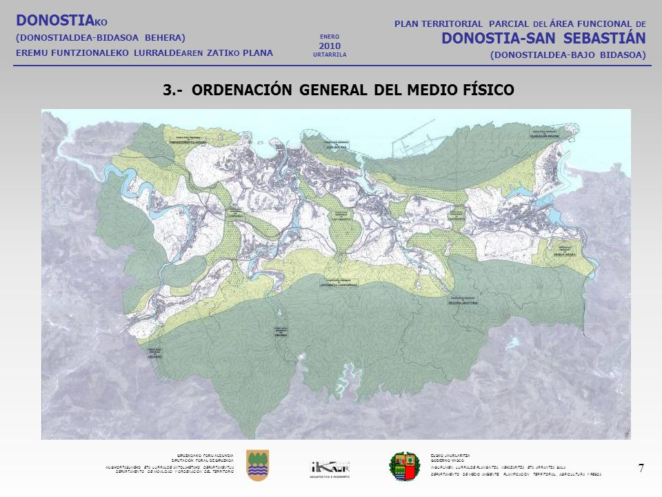 3.- ORDENACIÓN GENERAL DEL MEDIO FÍSICO