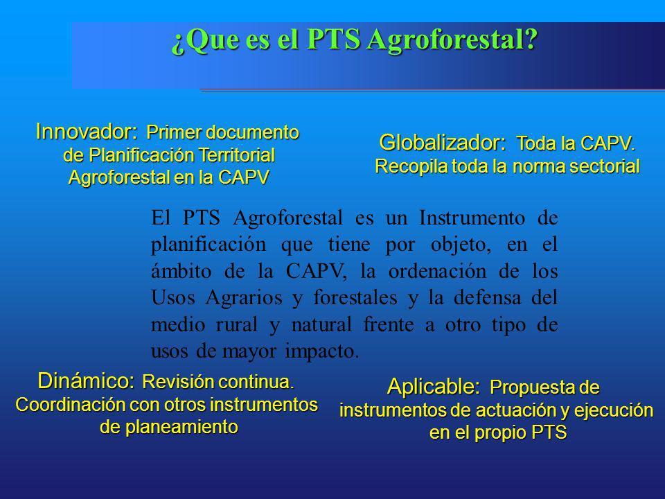 ¿Que es el PTS Agroforestal
