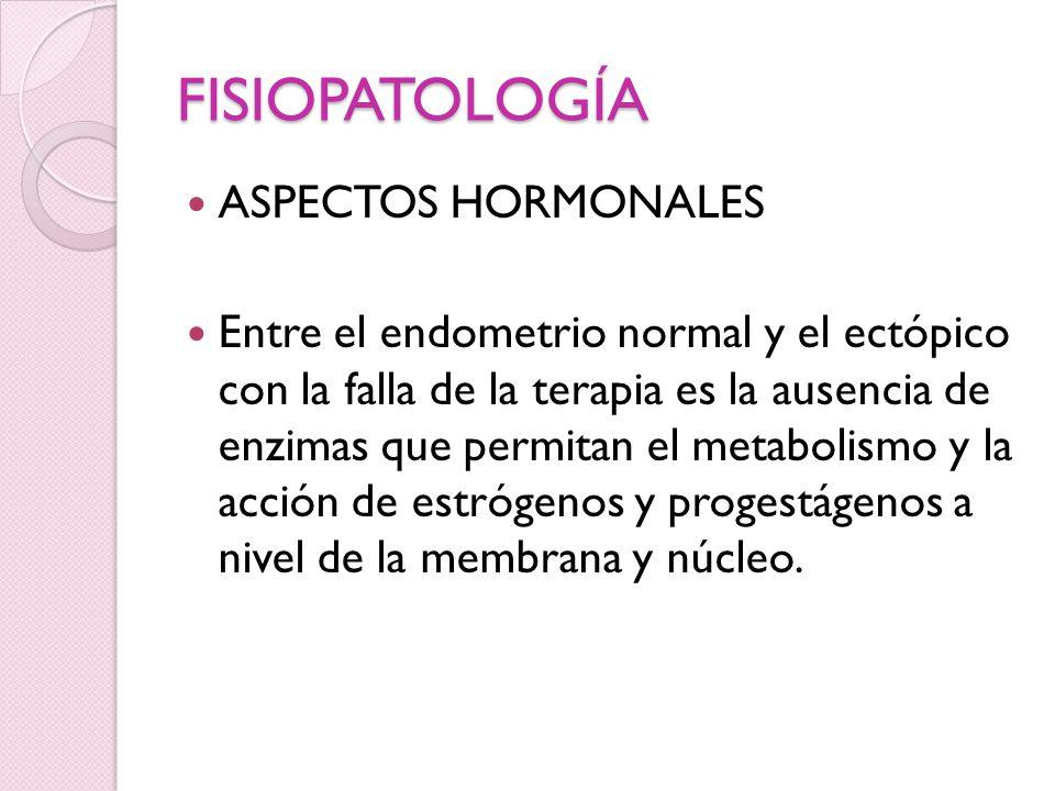 FISIOPATOLOGÍA ASPECTOS HORMONALES