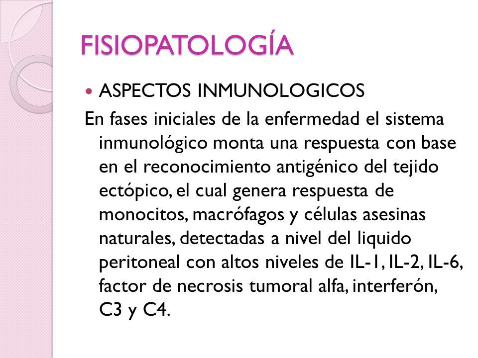 FISIOPATOLOGÍA ASPECTOS INMUNOLOGICOS