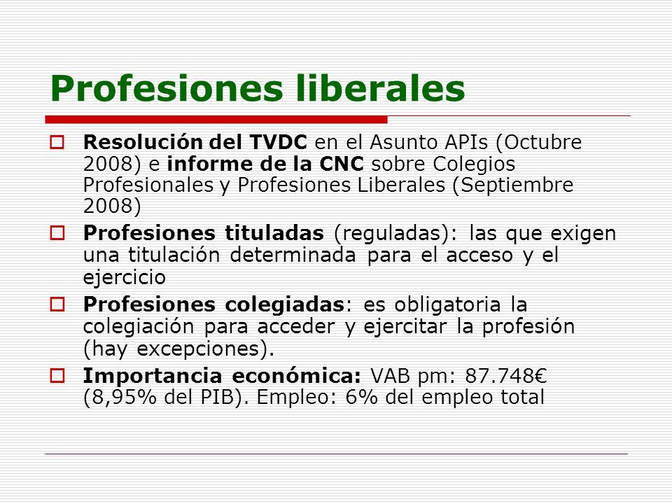 Profesiones liberales