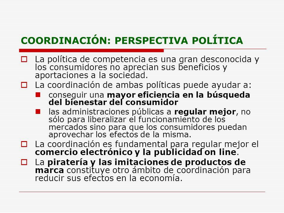 COORDINACIÓN: PERSPECTIVA POLÍTICA