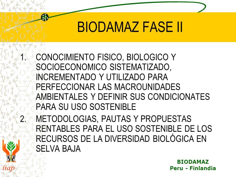BIODAMAZ FASE II