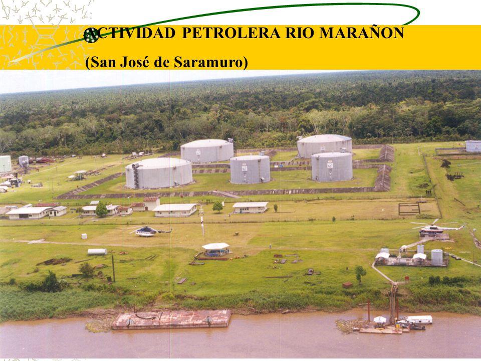 ACTIVIDAD PETROLERA RIO MARAÑON
