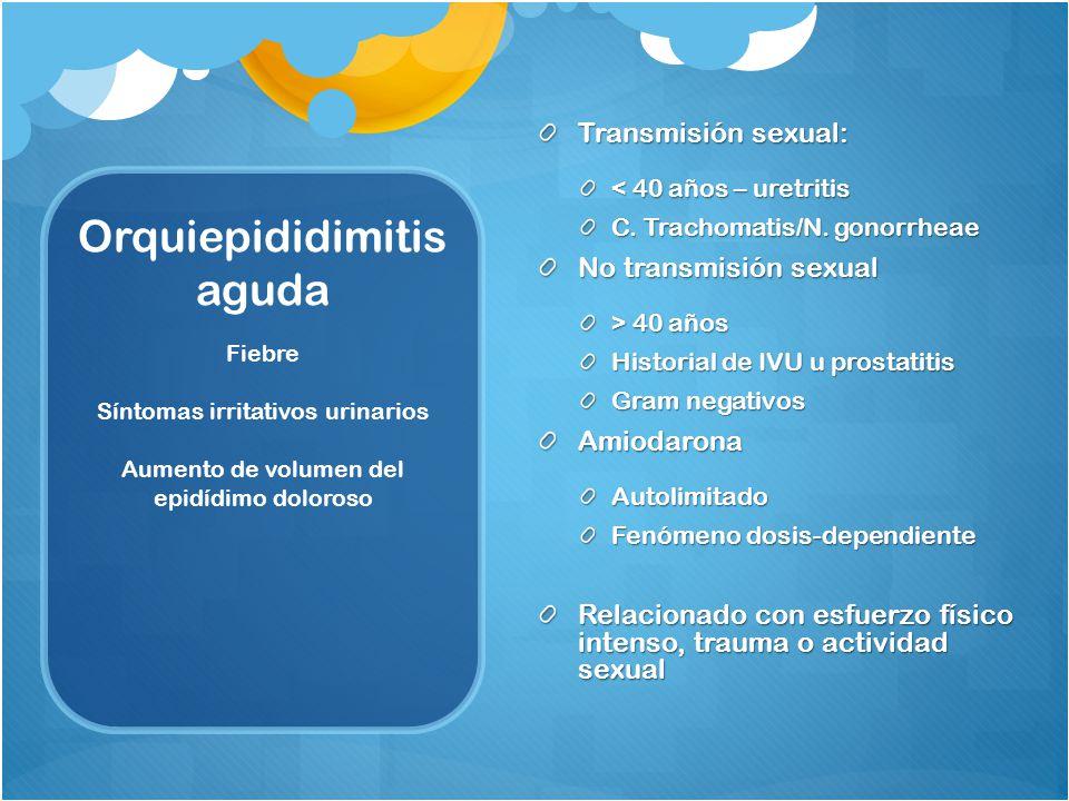 Orquiepididimitis aguda
