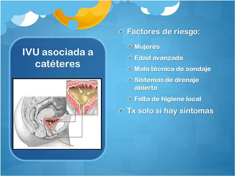 IVU asociada a catéteres