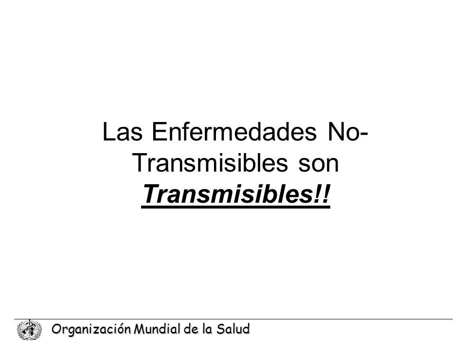 Las Enfermedades No-Transmisibles son Transmisibles!!