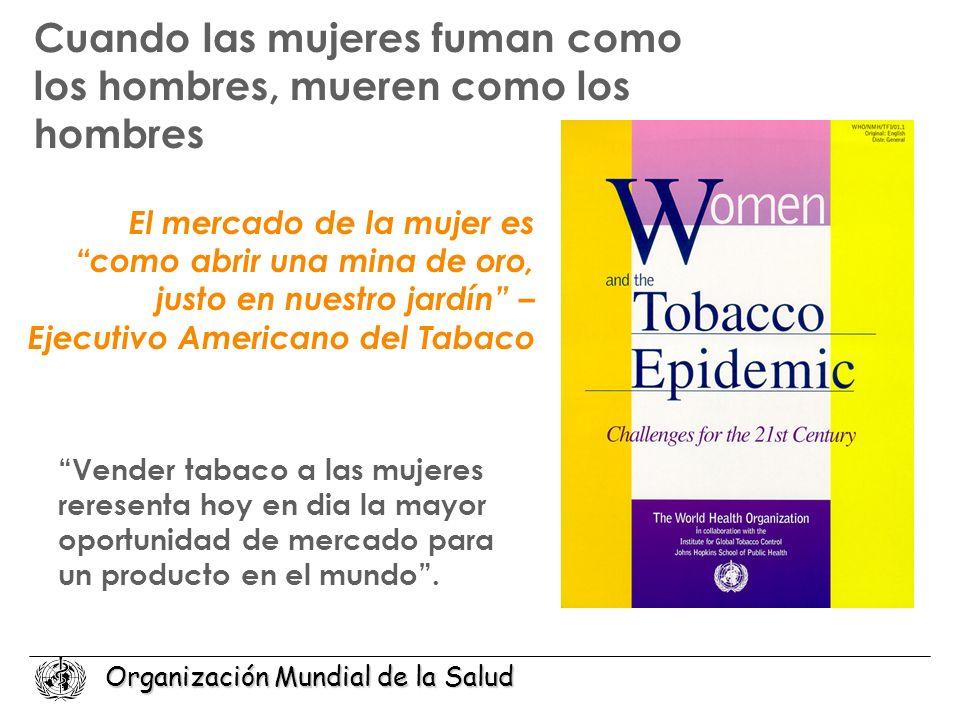Cuando las mujeres fuman como los hombres, mueren como los hombres