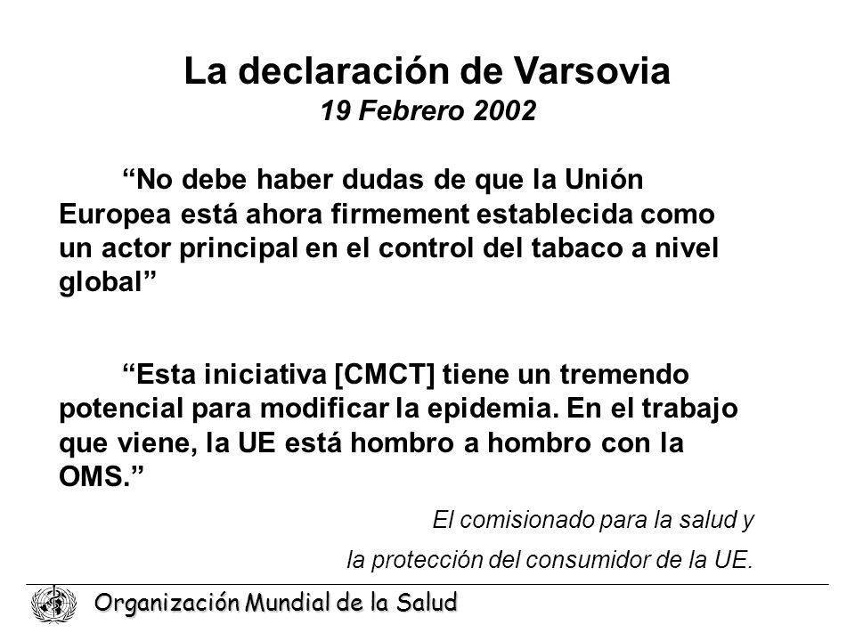 La declaración de Varsovia 19 Febrero 2002