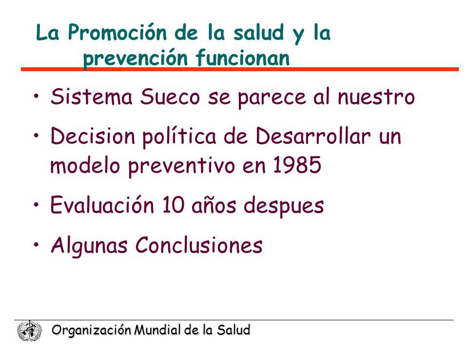 La Promoción de la salud y la prevención funcionan