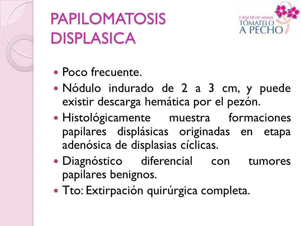 PAPILOMATOSIS DISPLASICA