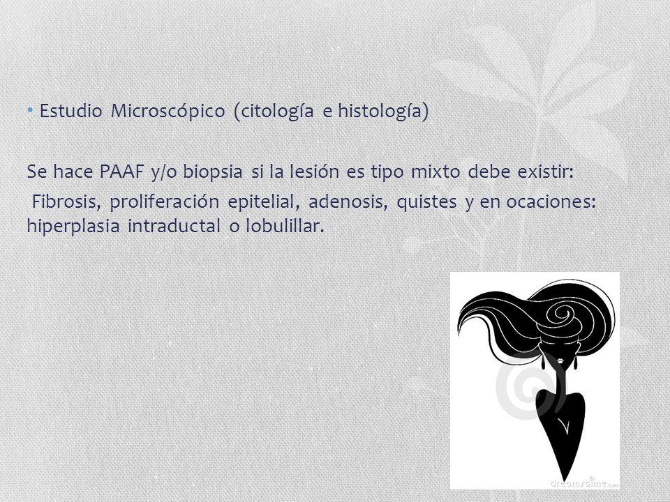 Estudio Microscópico (citología e histología)