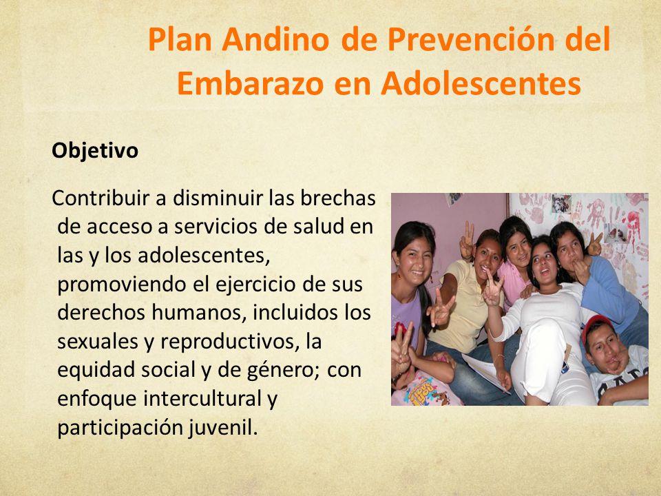 Plan Andino de Prevención del Embarazo en Adolescentes