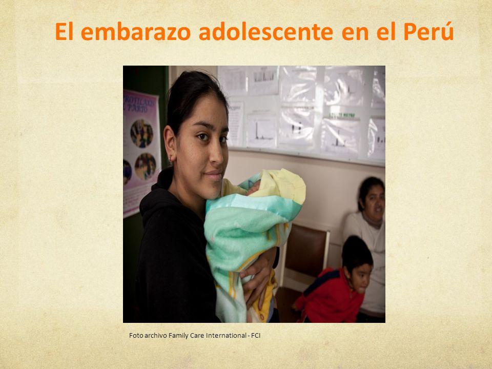 El embarazo adolescente en el Perú