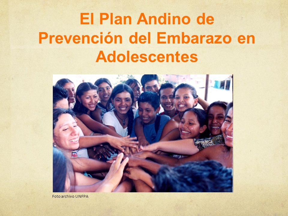 El Plan Andino de Prevención del Embarazo en Adolescentes