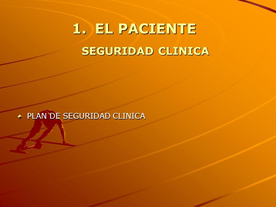 EL PACIENTE SEGURIDAD CLINICA
