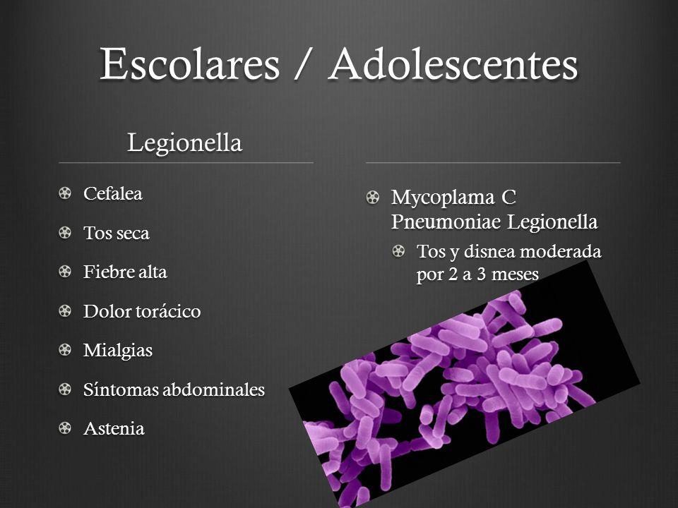 Escolares / Adolescentes