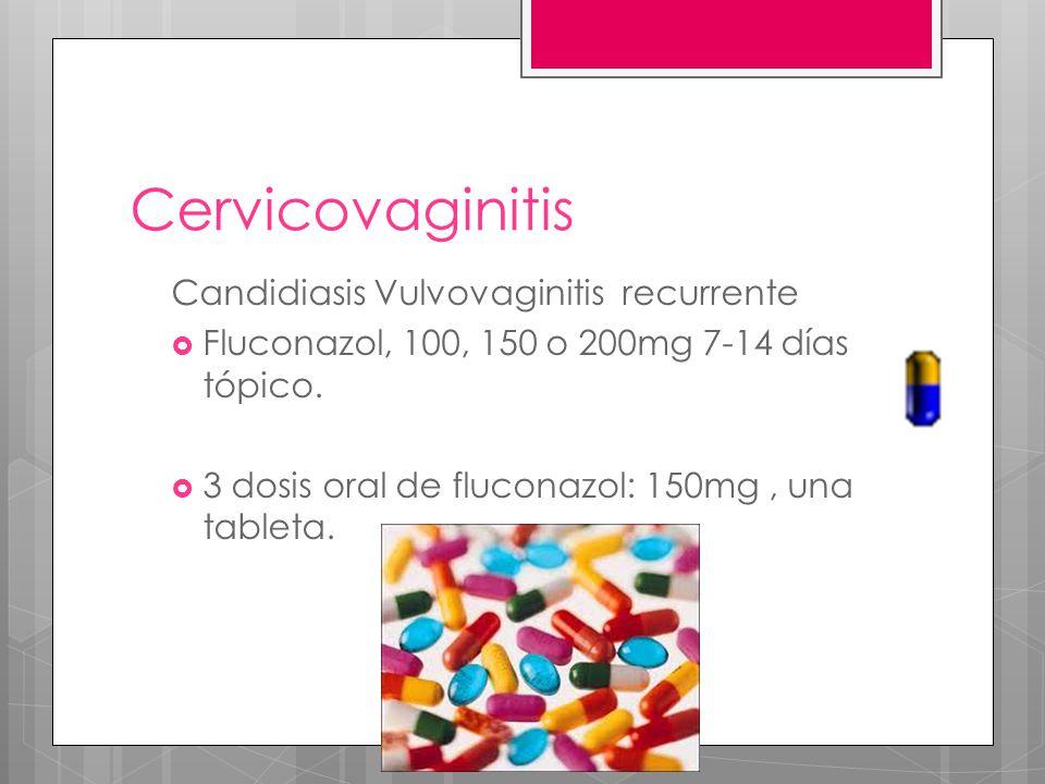 Cervicovaginitis Candidiasis Vulvovaginitis recurrente