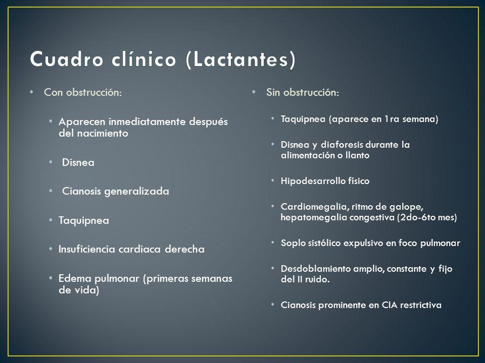 Cuadro clínico (Lactantes)
