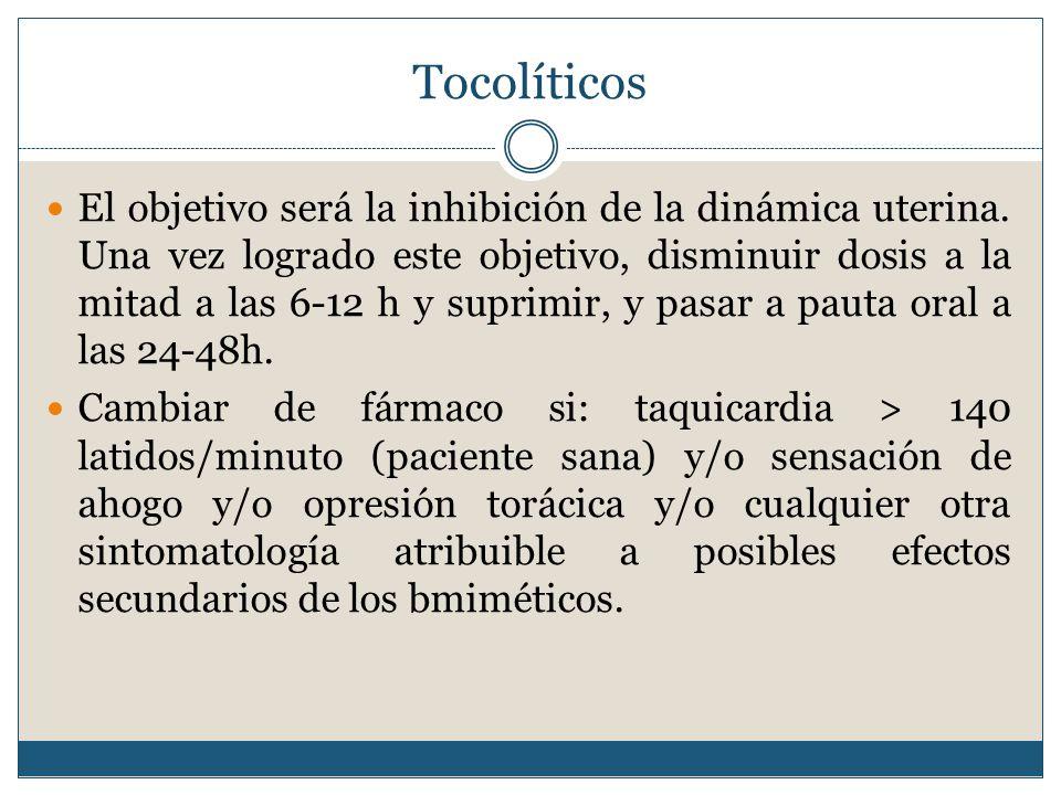 Tocolíticos