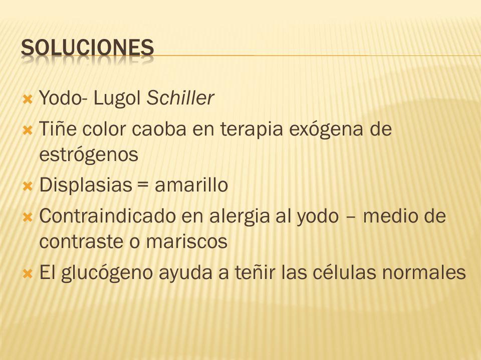 Soluciones Yodo- Lugol Schiller
