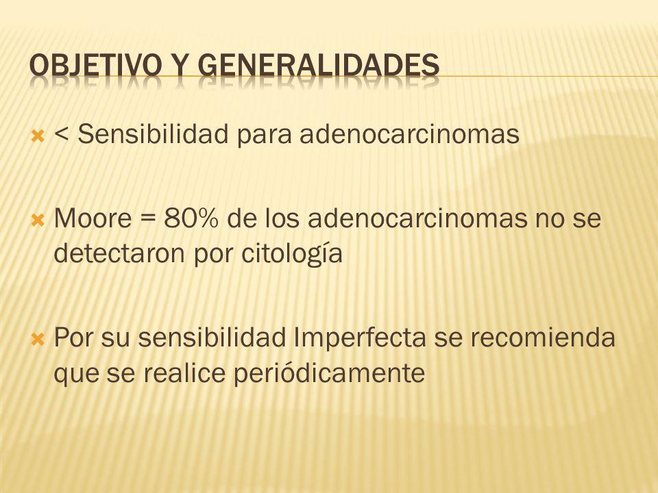 Objetivo y generalidades