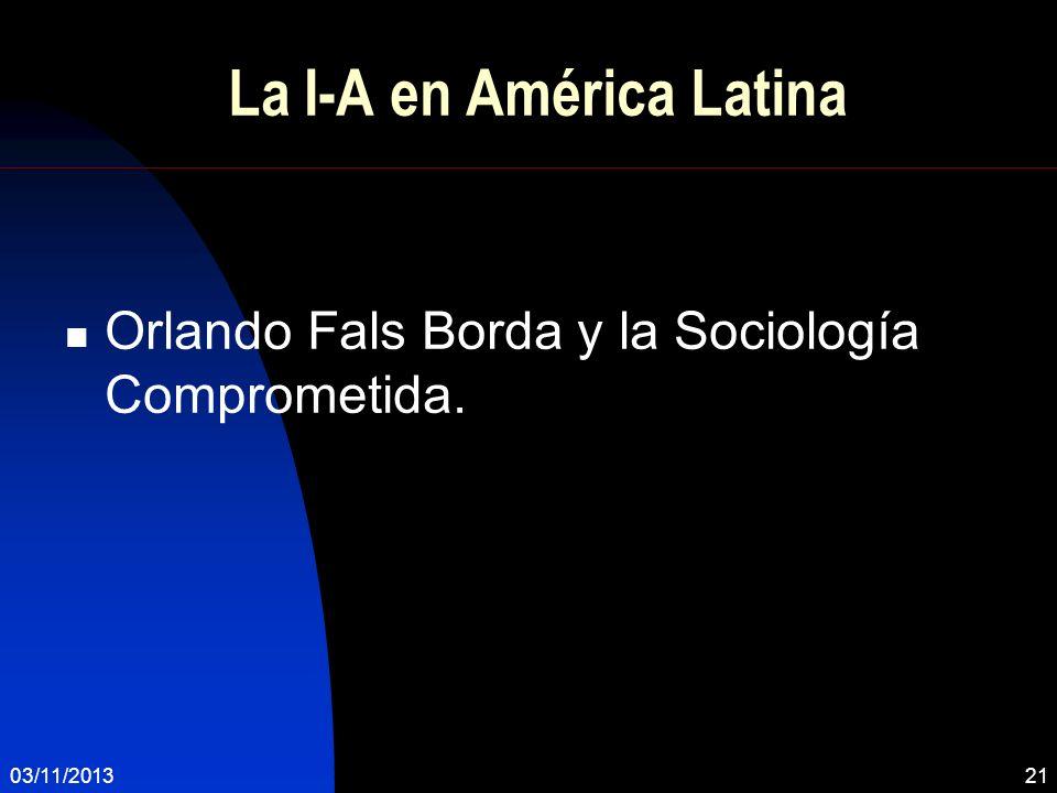 La I-A en América Latina