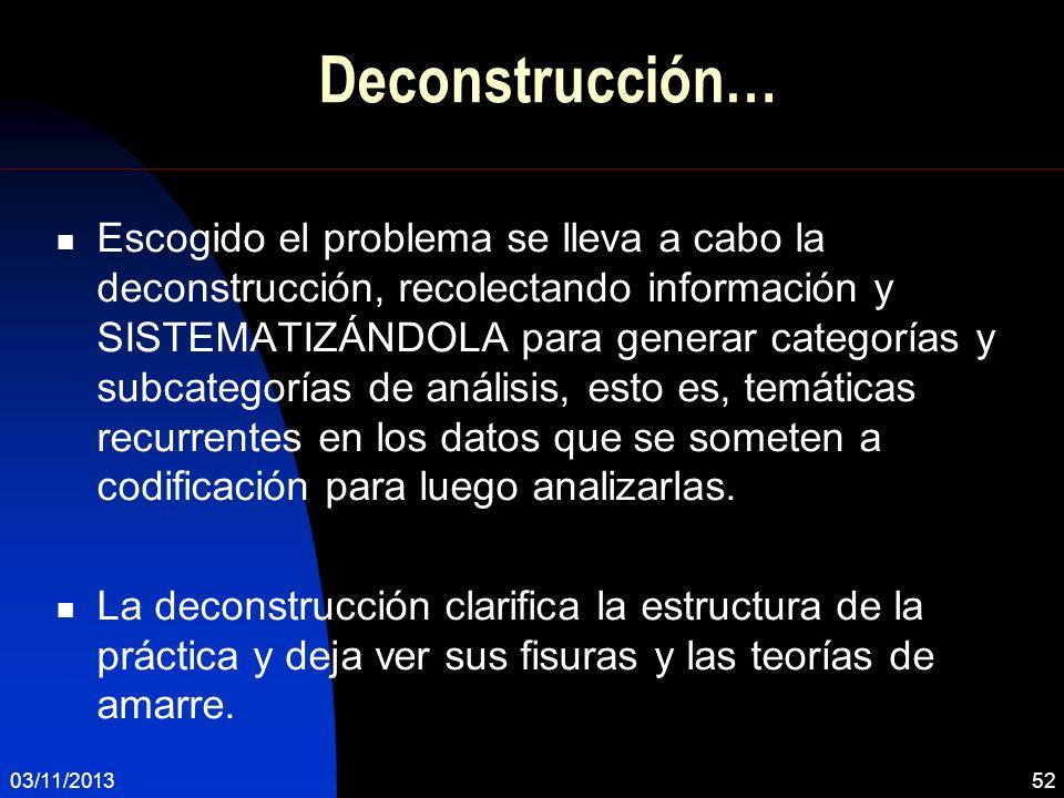 Deconstrucción…