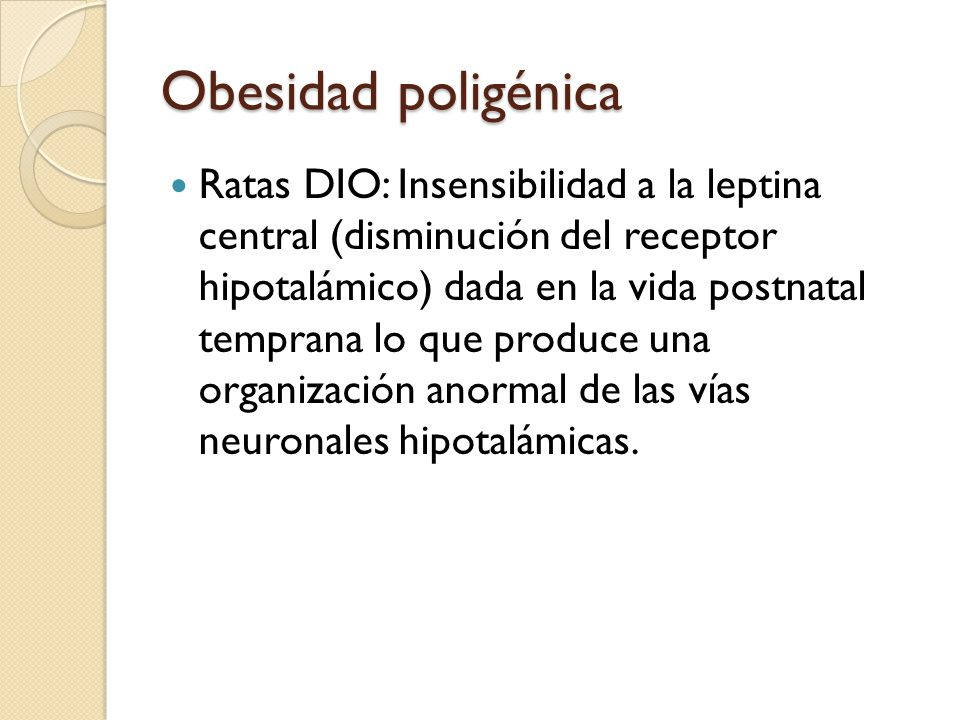 Obesidad poligénica