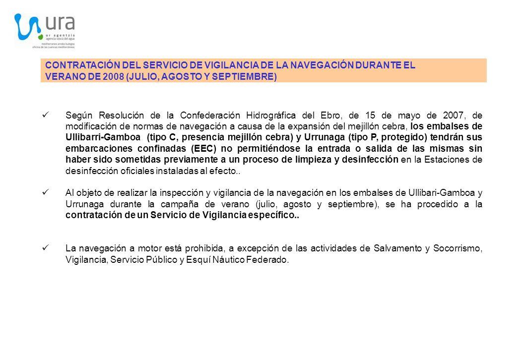CONTRATACIÓN DEL SERVICIO DE VIGILANCIA DE LA NAVEGACIÓN DURANTE EL