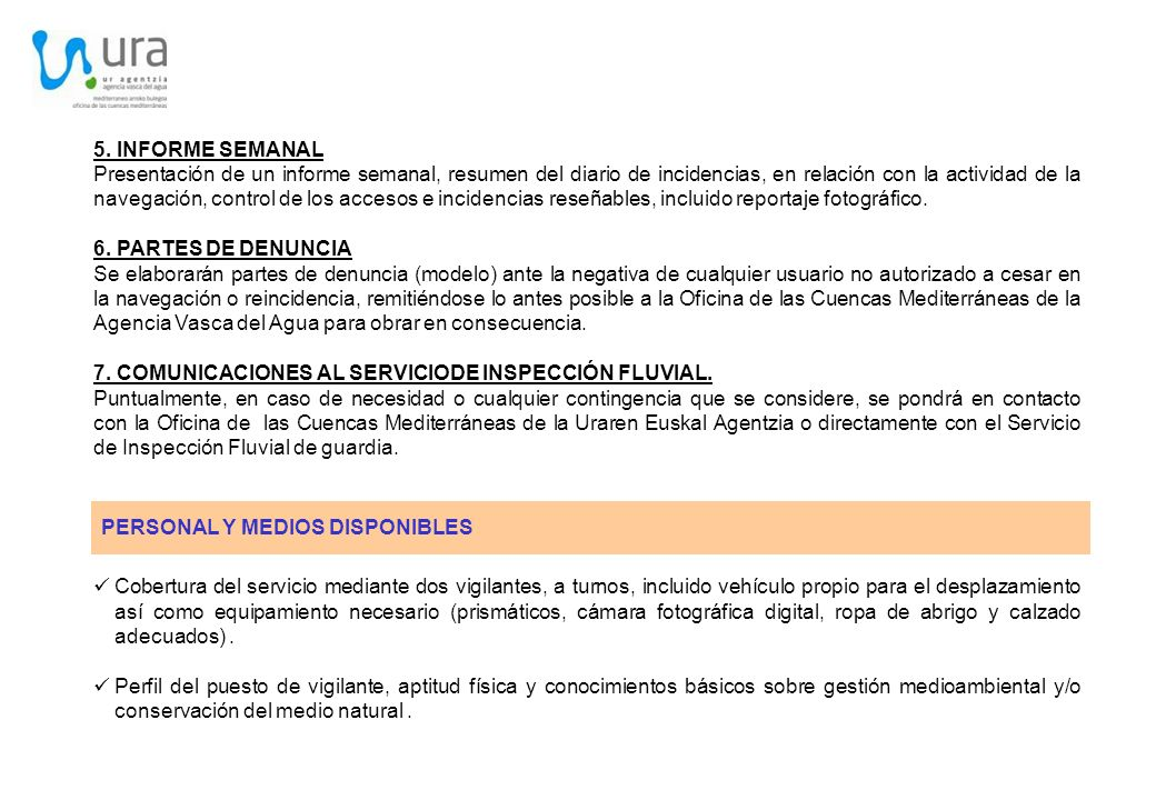 5. INFORME SEMANAL