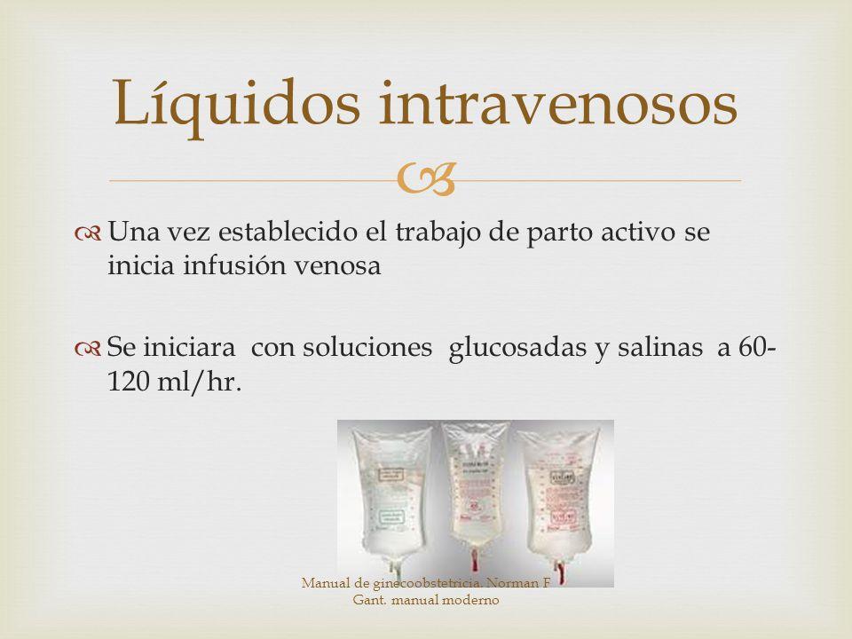 Líquidos intravenosos