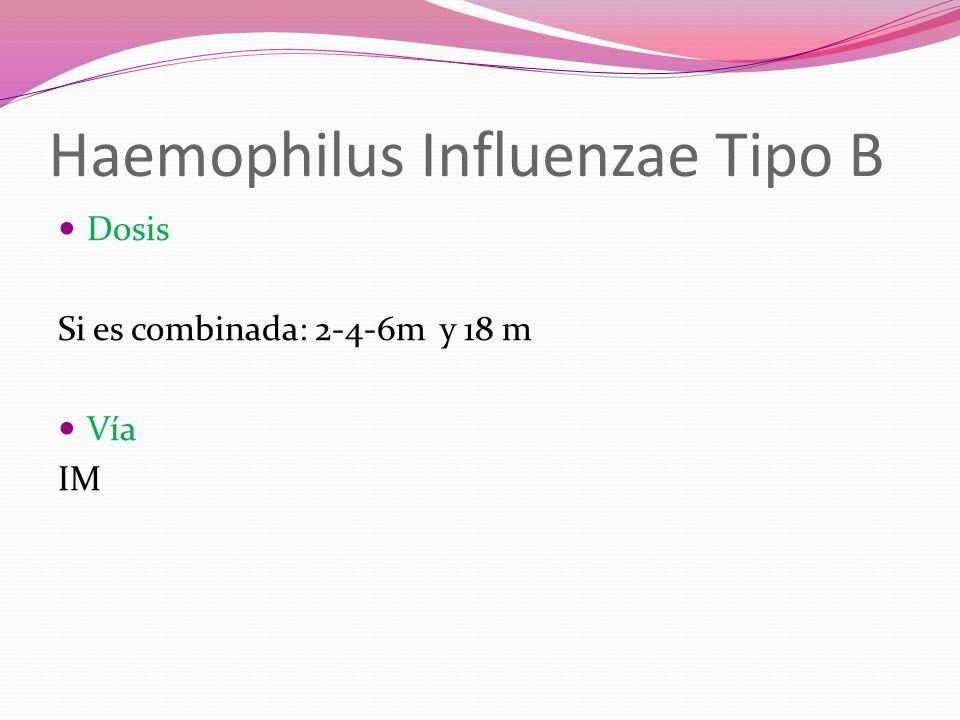 Haemophilus Influenzae Tipo B