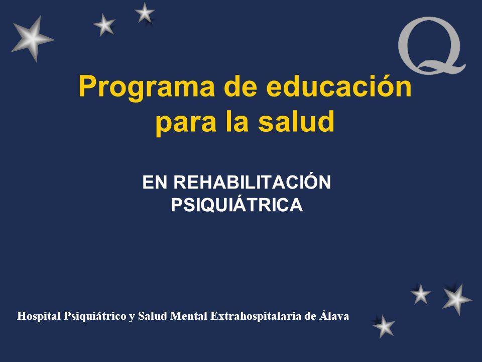 Programa de educación para la salud