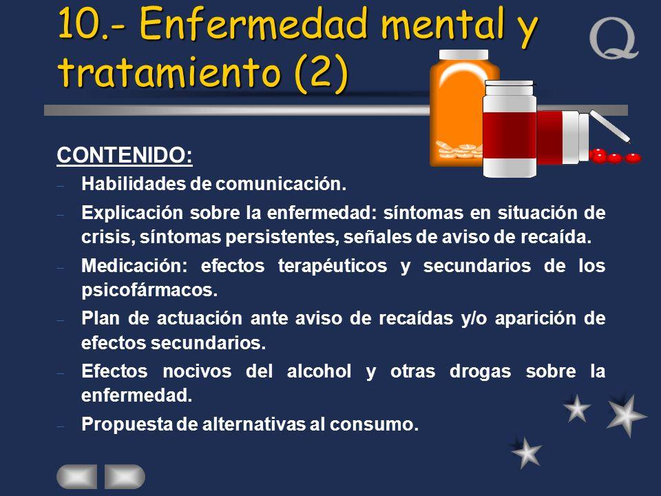 10.- Enfermedad mental y tratamiento (2)