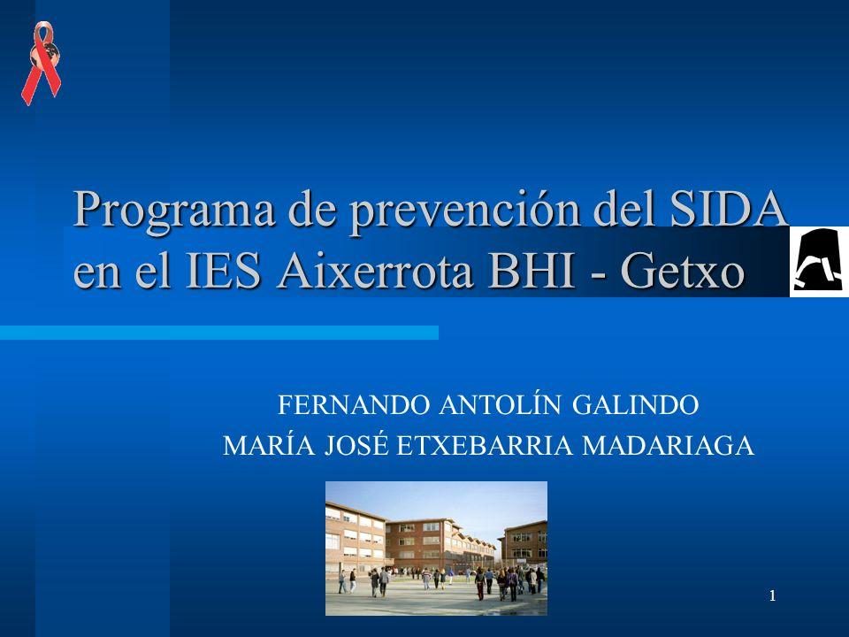 Programa de prevención del SIDA en el IES Aixerrota BHI - Getxo