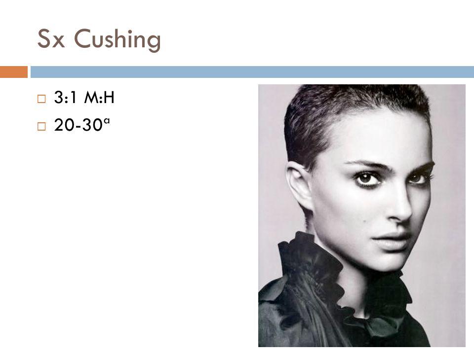 Sx Cushing 3:1 M:H. 20-30ª.