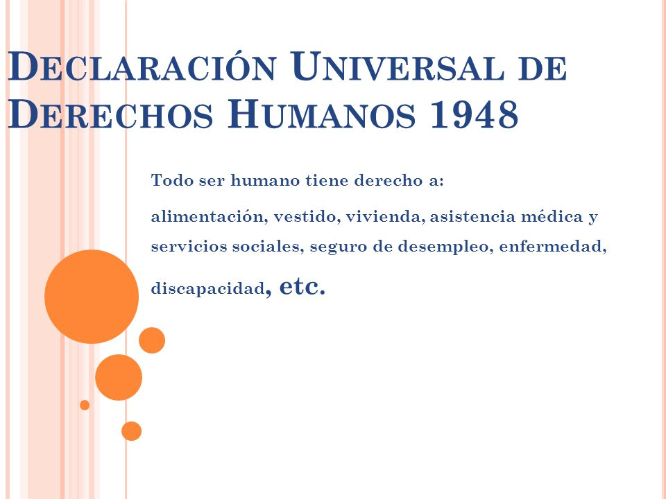 Declaración Universal de Derechos Humanos 1948