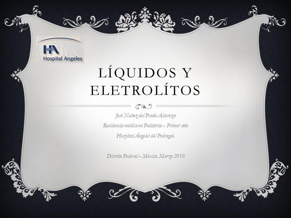 Líquidos y eletrolítos