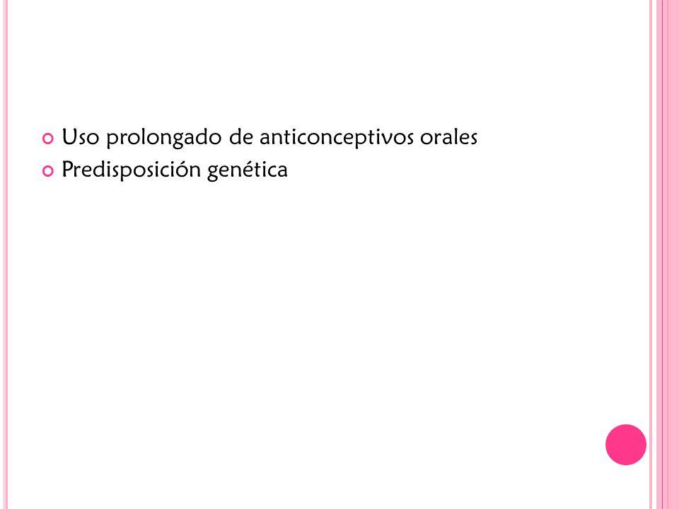 Uso prolongado de anticonceptivos orales