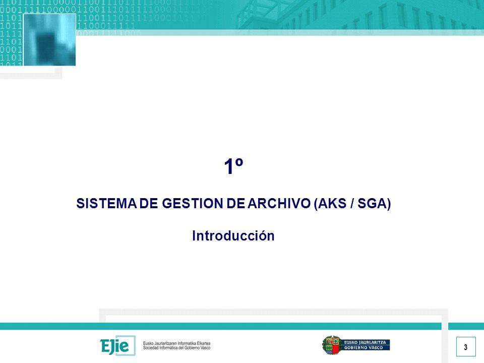 SISTEMA DE GESTION DE ARCHIVO (AKS / SGA)