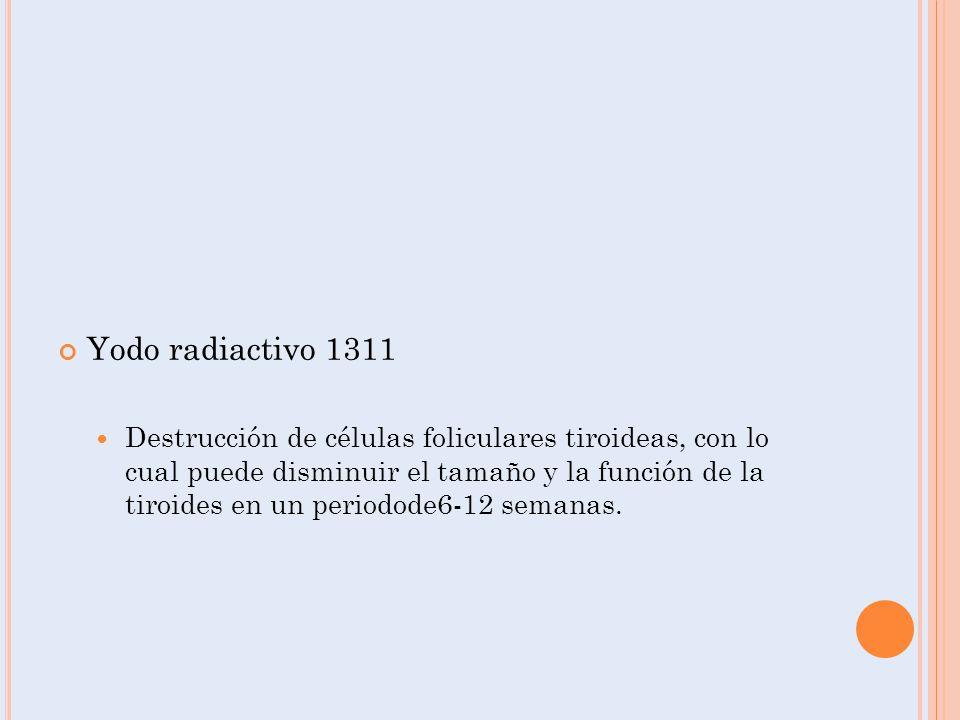 Yodo radiactivo 1311