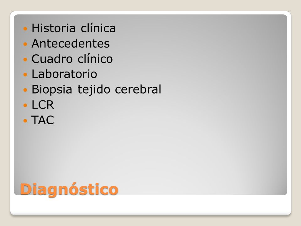Diagnóstico Historia clínica Antecedentes Cuadro clínico Laboratorio