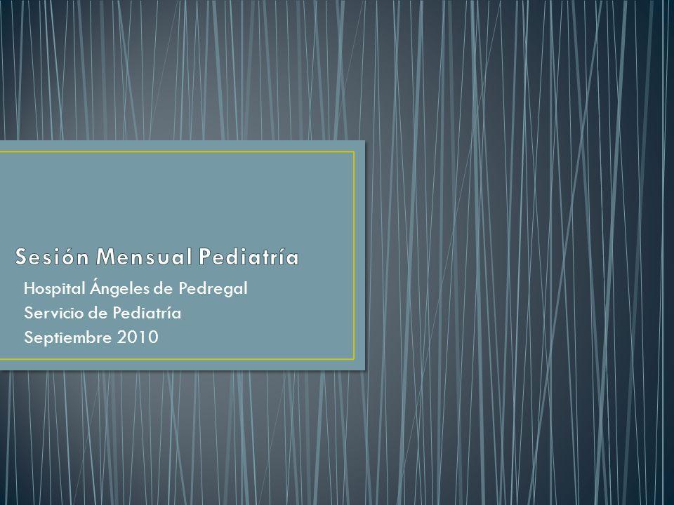 Sesión Mensual Pediatría