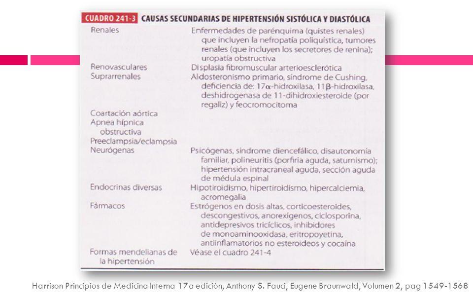 Harrison Principios de Medicina Interna 17a edición, Anthony S
