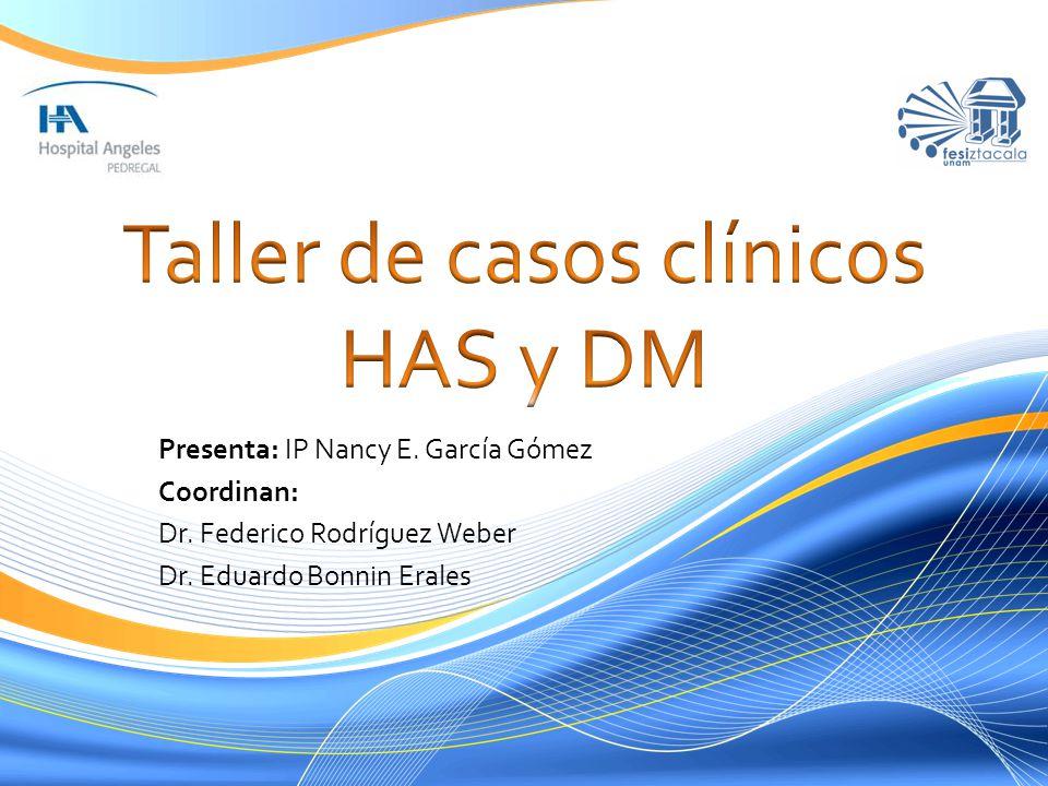 Taller de casos clínicos HAS y DM